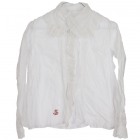 Anno1900 Bluse Weiss
